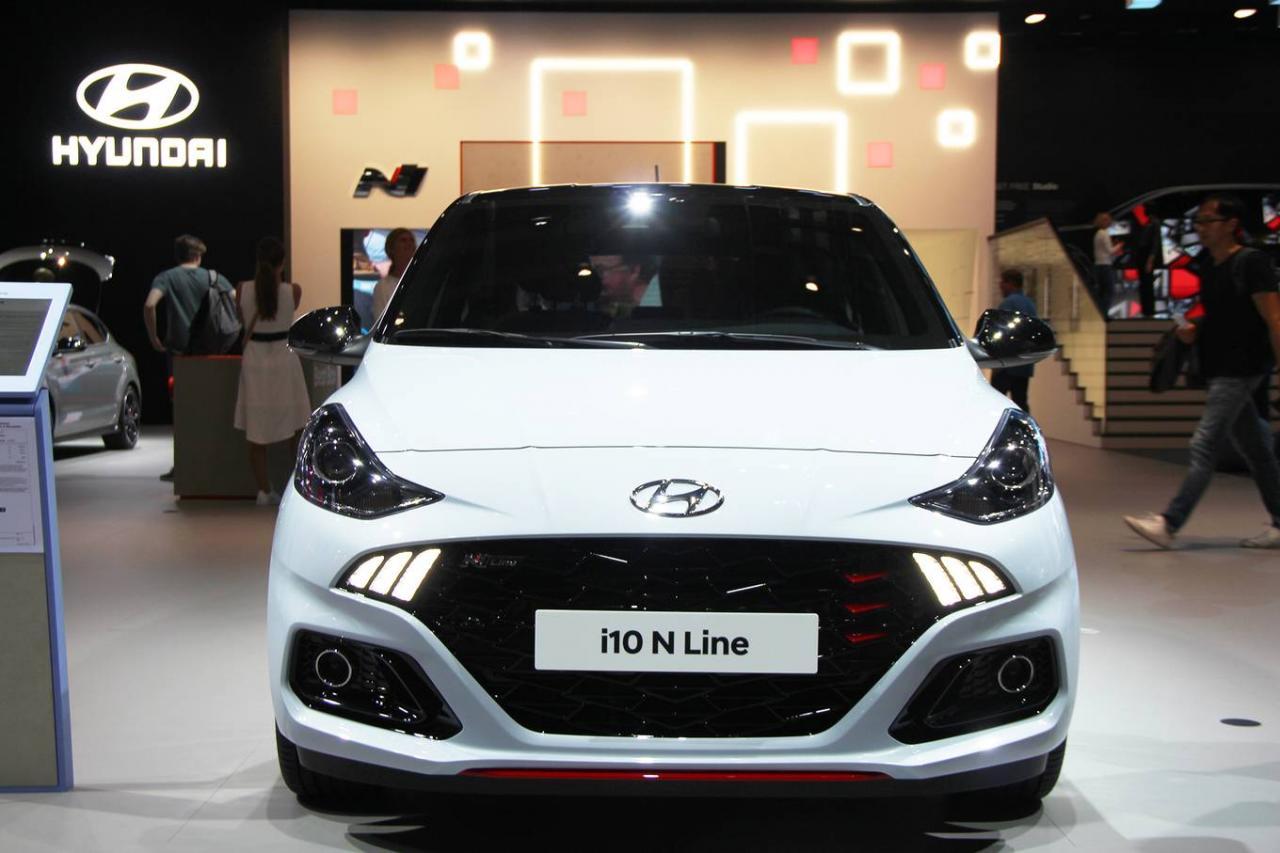 Hyundai i10 N Line - xe thể thao bình dân